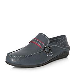 Senda/森达2018春季新款专柜同款时尚舒适男休闲鞋1DS10AM8