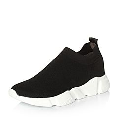 Senda/森达2018春季新款专柜同款韩版舒适女休闲鞋VOI20AM8