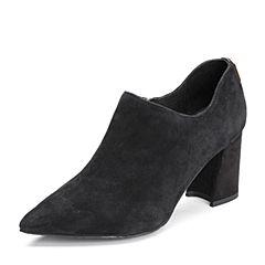 Senda/森达春季新款专柜同款优雅女高跟单鞋VEX21AM8