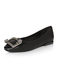 Senda/森达2018春季新款专柜同款时尚甜美女单鞋4AT10AQ8