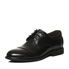 Senda/森达2018春季新款时尚牛皮商务正装男鞋F7116AM8