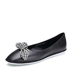 Senda/森达2018春季新款专柜同款甜美舒适女单鞋4BD10AQ8