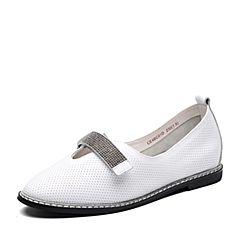 Senda/森达2018春季新款专柜同款时尚舒适女休闲单鞋4BC01AQ8