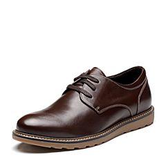Senda/森达2018春季新款专柜同款真皮低帮男休闲鞋V4P01AM8