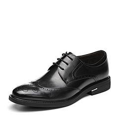 Senda/森达2018秋季新款专柜同款布洛克款式英伦商务男鞋1LU20CM8