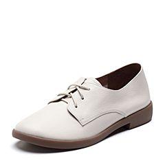 Senda/森达2018秋季新款专柜同款舒适学院女小皮鞋单鞋VSR20CM8