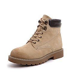 Senda/森达2018冬季新款专柜同款时尚街头女马丁靴短靴4GY01DD8