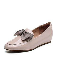 Senda/森达2019春季新款专柜同款甜美蝴蝶结舒适女单鞋VSC20AM9