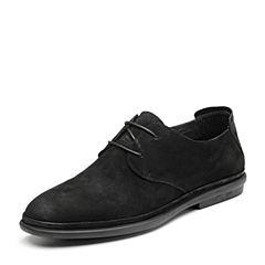Senda/森达2019春季新款专柜同款韩版舒适平底男休闲鞋1DK06AM9