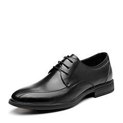 Senda/森达2019春季新款专柜同款正装舒适商务男鞋婚鞋1DP15AM9