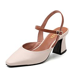 Senda/森达2019夏季新款专柜同款性感气质高粗跟女凉鞋4JQ01BH9