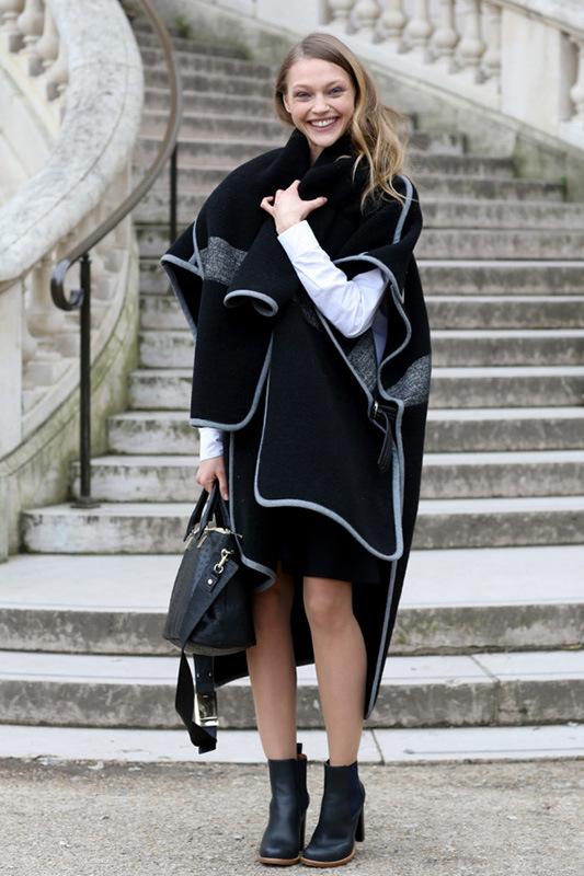 洋蔥式穿搭法 為大衣加溫-優購網時尚商城