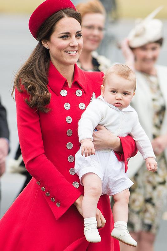 最有性格的皇室成员:乔治小王子萌翻表情大全