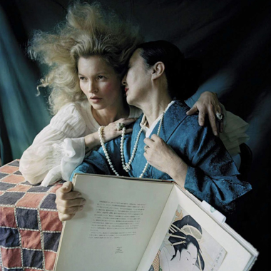 Kate Moss的日式情结