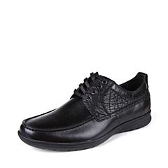 SKAP/圣伽步 男子 传统休闲 牛皮 深口鞋 秋季 专柜同款  黑色 2031295194
