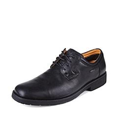 SKAP/圣伽步 男子 商务休闲 牛皮 深口鞋 夏季 专柜同款 黑色 2041532194