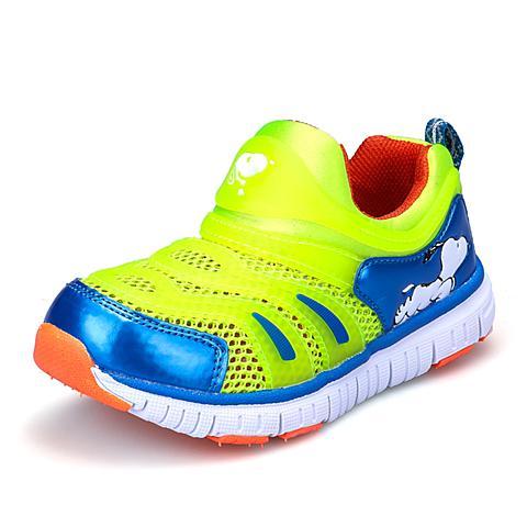 SNOOPY/史努比2015夏季新款男童女童小中大童毛毛虫网面休闲鞋S715305