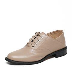 STACCATO/思加图2017春季专柜同款羊皮女单鞋RA81DAM7