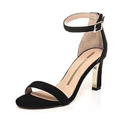 SATCCATO/思加图夏季专柜同款羊绒皮革女皮凉鞋9VN17BL7