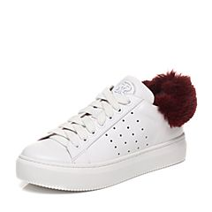 STACCATO/思加图秋季专柜同款时尚系带女皮鞋9D613CM7