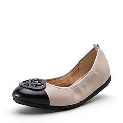 STACCATO/思加图2018秋季新款羊皮时尚平底女单鞋9CP47CQ8