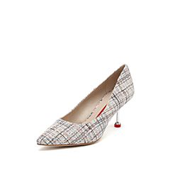 STACCATO/思加图2019专柜同款毛绒布女高跟鞋9Y806AQ9