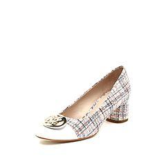 STACCATO/思加图2019专柜同款浅口绵羊皮革女皮鞋9Y211AQ9