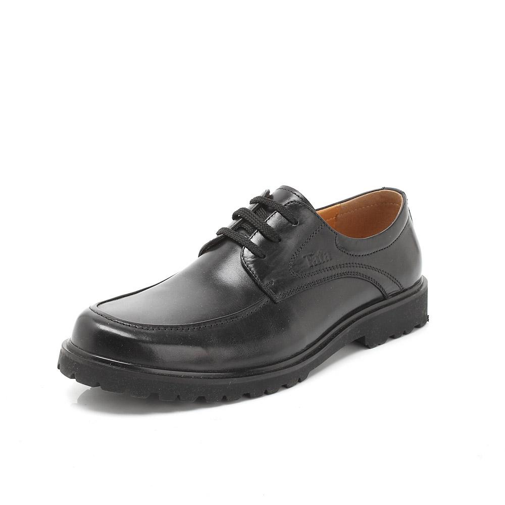 男鞋黑白矢量图