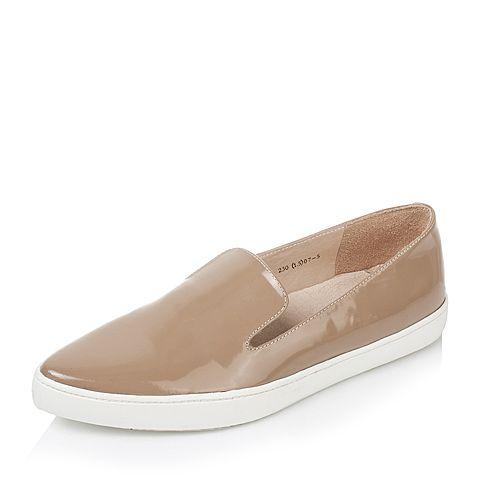 Tata/他她秋季专柜同款小牛皮浅口女单鞋2LH01CQ5