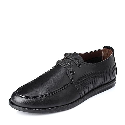 Teenmix/天美意夏季专柜同款牛皮男单鞋1KA01BM4