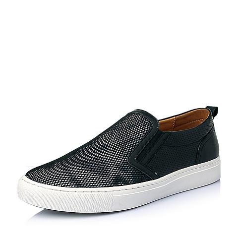 Teenmix/天美意夏季黑/灰色网布男休闲鞋B9359BM6