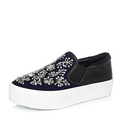 Teenmix/天美意秋蓝色女单鞋98-96CM6