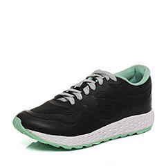 Teenmix/天美意2017秋专柜同款黑色厚底运动风系带鞋女休闲鞋CAC20CM7