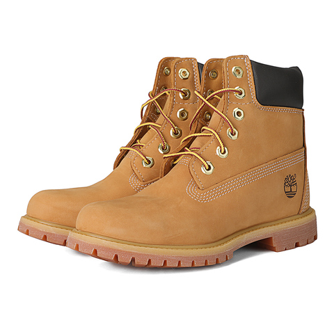 Timberland/添柏岚正品 17专柜同款春夏新品 全粒面革和磨砂女靴 黄靴 10361 泥黄(延续款)