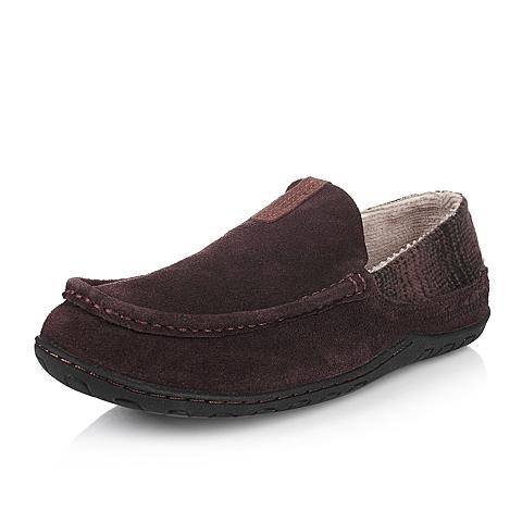 Timberland/添柏岚正品男款深棕色绒面革休闲单鞋5938A