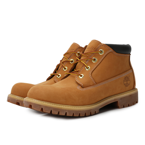 Timberland/添柏岚新款正品男款土黄色皮革低靴23061