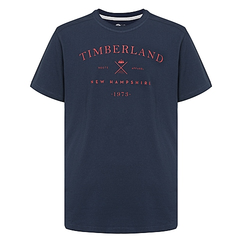 Timberland/添柏岚 新品 男子户外纯棉透气短袖T恤衫A18O7433