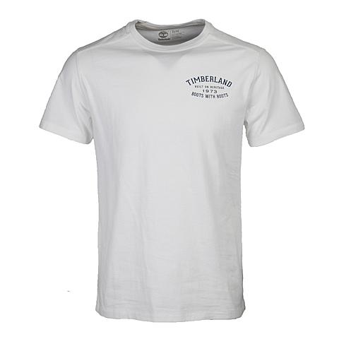 Timberland/添柏岚 新品男子后背印花户外短袖T恤衫A18OI100