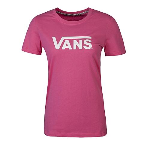 VANS万斯 新款女子圆领短袖T恤VN-012IAFJ