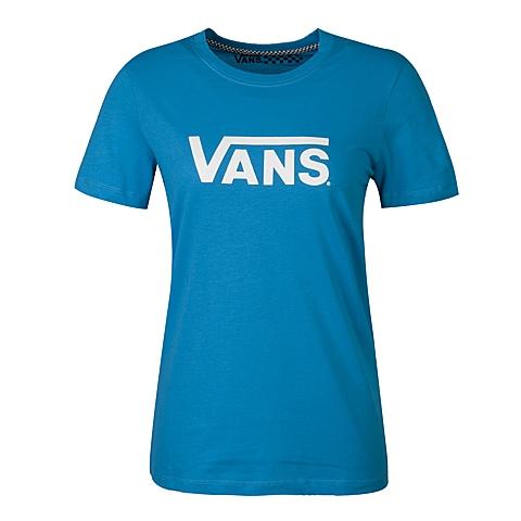 VANS万斯 新款女子圆领短袖T恤VN-012IG7I