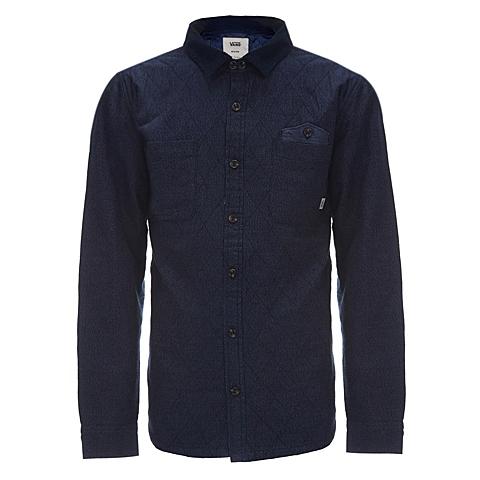VANS万斯 新款男子长袖衬衫VN-02K2ADI
