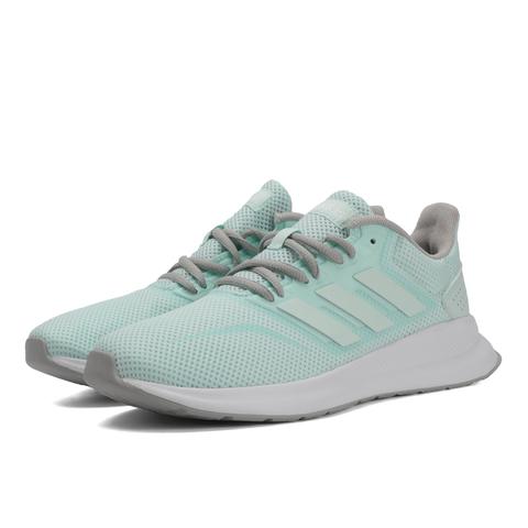 阿迪达斯新款羽绒服_【阿迪达斯adidasF36626绿】adidas阿迪达斯女子RUNFALCONPE跑步鞋F36626