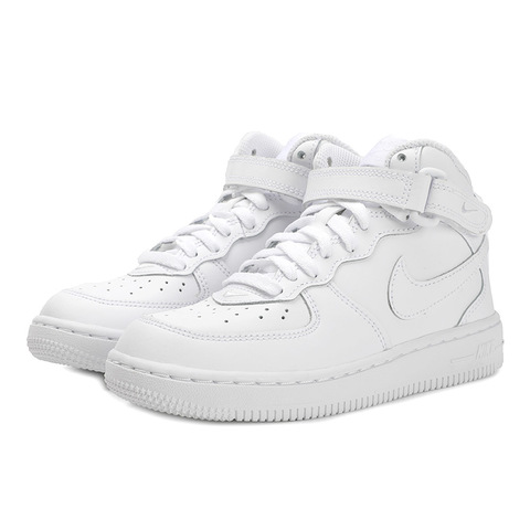 nike耐克2020中性小童NIKE FORCE 1 MID (PS)复刻鞋314196-113